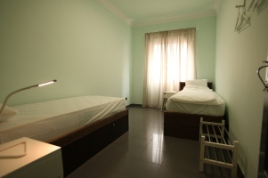 2 bed room green